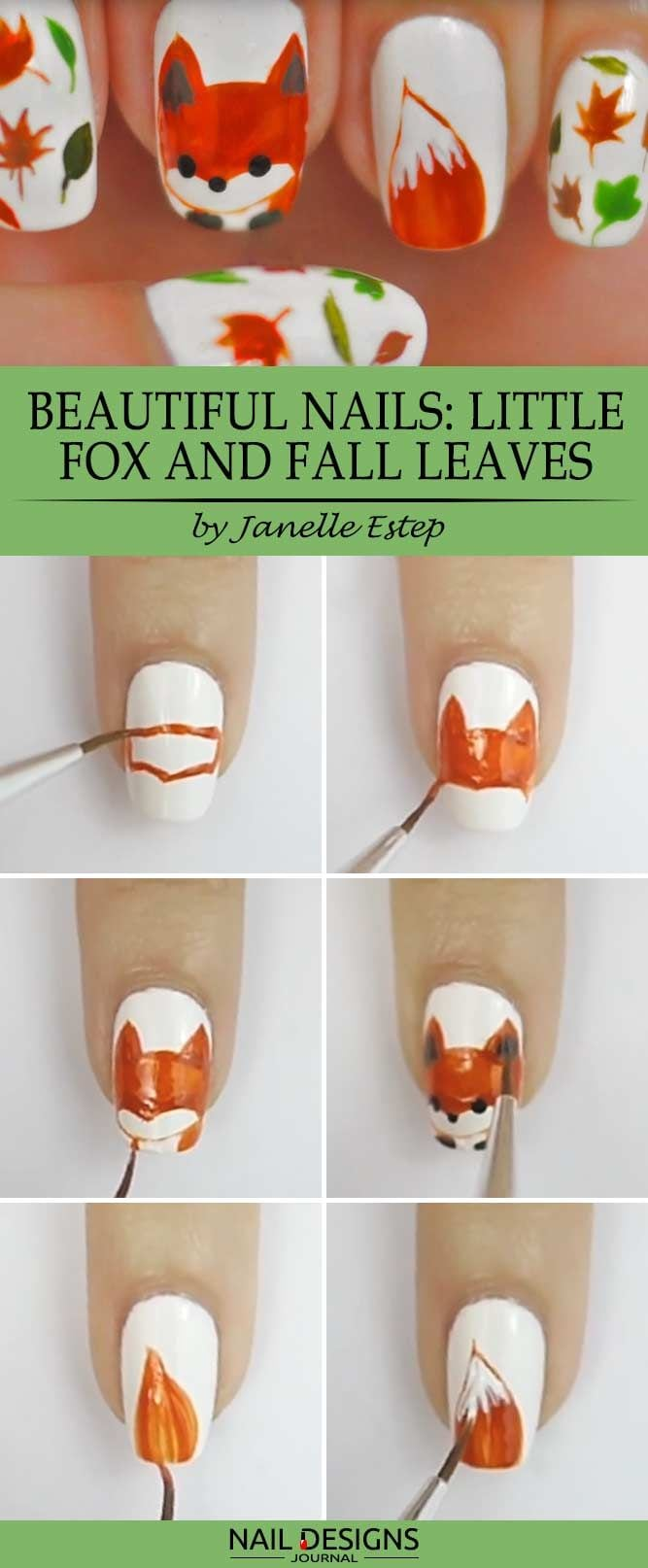 When we think about simple nail designs, we for sure want them to look cute and extraordinary, too. That is why we have come up with a thought that depicting a little fox on your nails may do the trick.…