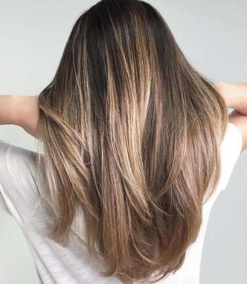 Ash Brown And Blonde Balayage Hair Source by sabrinamehrezi   …