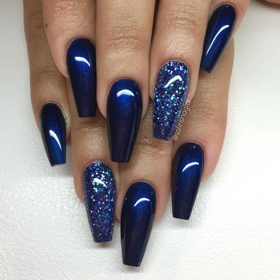 Coffin Acrylic Nail Designs | Coffin nails 2017 | Nail Art Styling Source by wilmaoonk   …