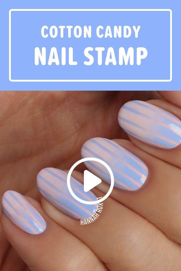 How to Get Cotton Candy Nails #nailart #naildiy #naildesign #nailtutorial Source by damininieswaag   …