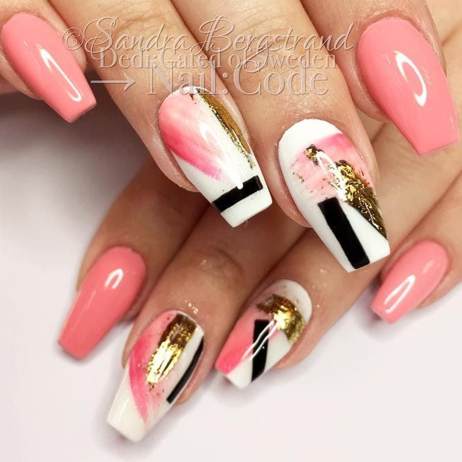 Nail foil is that special ingredient that makes your nail art look individual not to mention that it is incredibly easy to use. That is why today we are going to share with you some fresh and intricate foil nail…