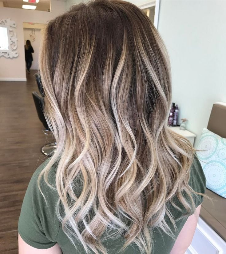 Platinum Blonde Balayage For Brown Hair Source by SFKPM   …