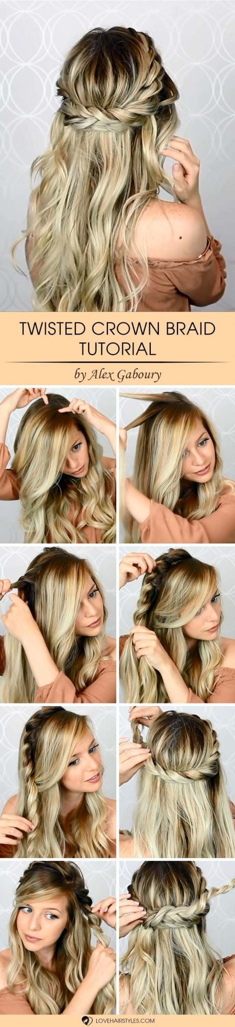Twisted Crown Braid Tutorial ★ See more: lovehairstyles.co… Source by lightningbugsNL   …