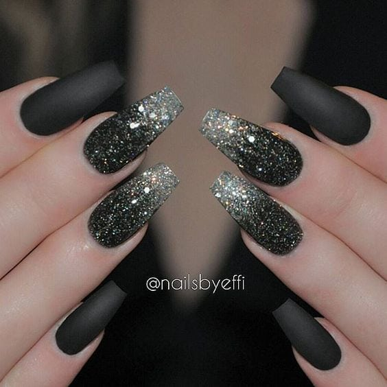 click through the post and you may get glitter nail art that you will love Source by Kimzke   …