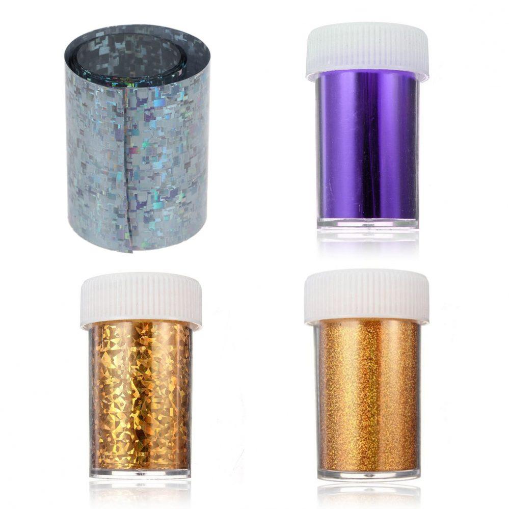 1PC Rouleau Foil Transfert Sticker Tips Glitter Gel UV Deco Ongle Manucure Na 82  Price : 1.00  Ends on :   Voir sur eBay   …