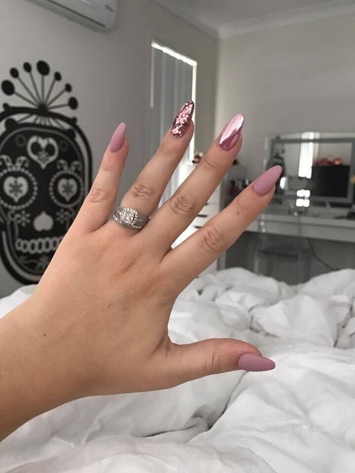 Nude nails designs are classy, which makes them appropriate for any occasion. Plus, such designs will be a wonderful completion to your .. #nudenails #nailideas #nails