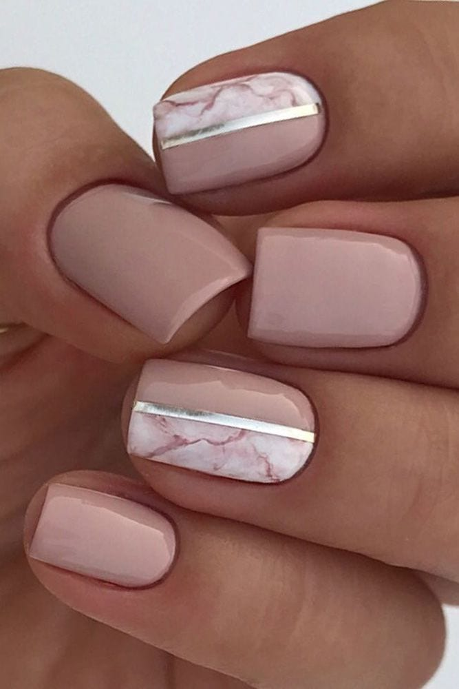Wedding day nails Source by vahidparn   …