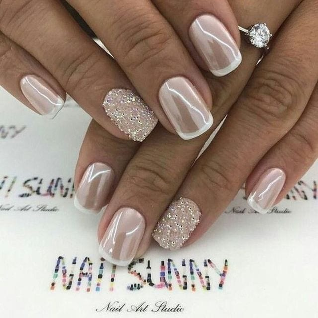44 Gorgeous Wedding Nail Art Ideas for Brides – fashioomo.com