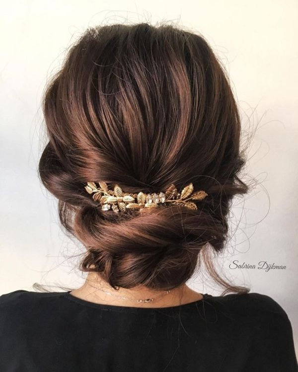 Beautiful updo hairstyles, upstyles, elegant updo ,chignon ,bridal updo hairstyles ,swept back hairstyles,wedding hairstyle #weddinghairstyles #hairstyles #romantichairstyles by meghan