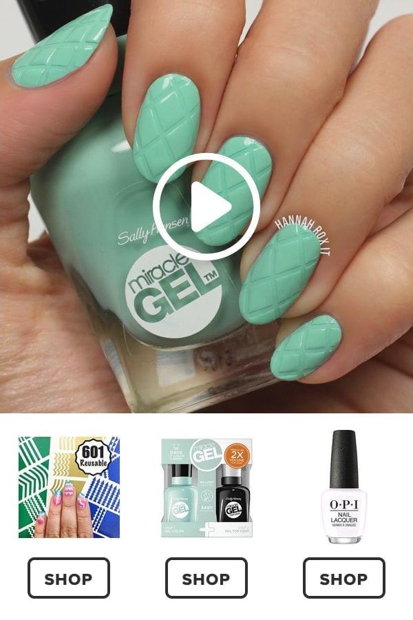 How to Get a Criss Cross Manicure #darbysmart #beauty #nailpolish #nailart #naildiy #naildesign #nailtutorial Source by wieketekstra   …