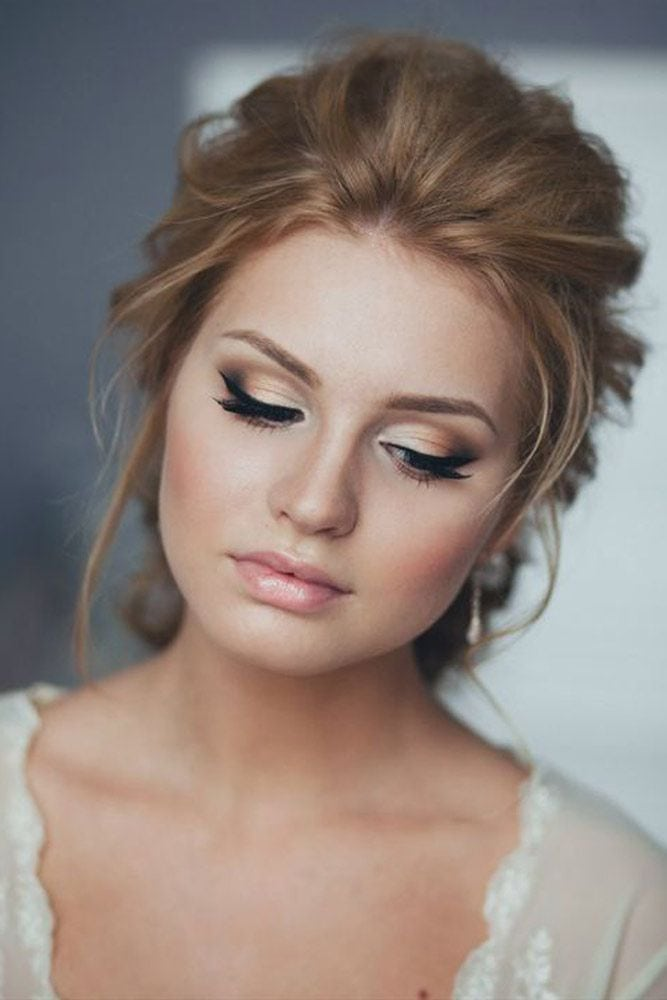 Magnificent Wedding Makeup Looks for Your Big Day ★ See more: glaminati.com/…