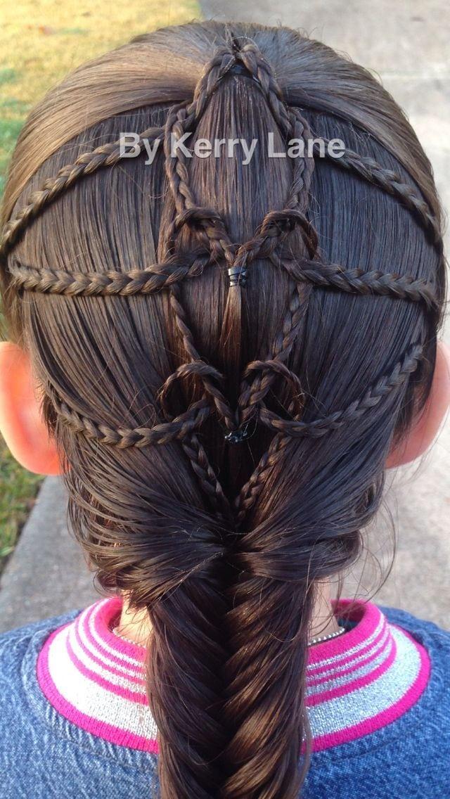 Sweet Valentine's Hair! Source by kimberleykruts   …