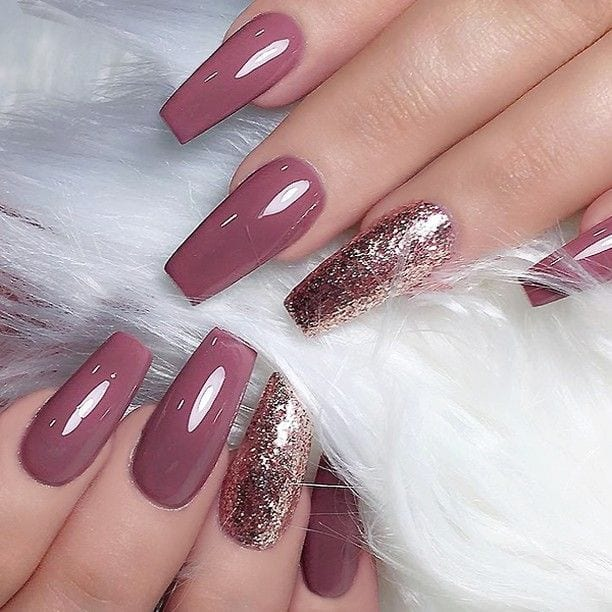 Nude nails can look sophisticated and elegant without being too plain. #nudenails #nailideas #nails