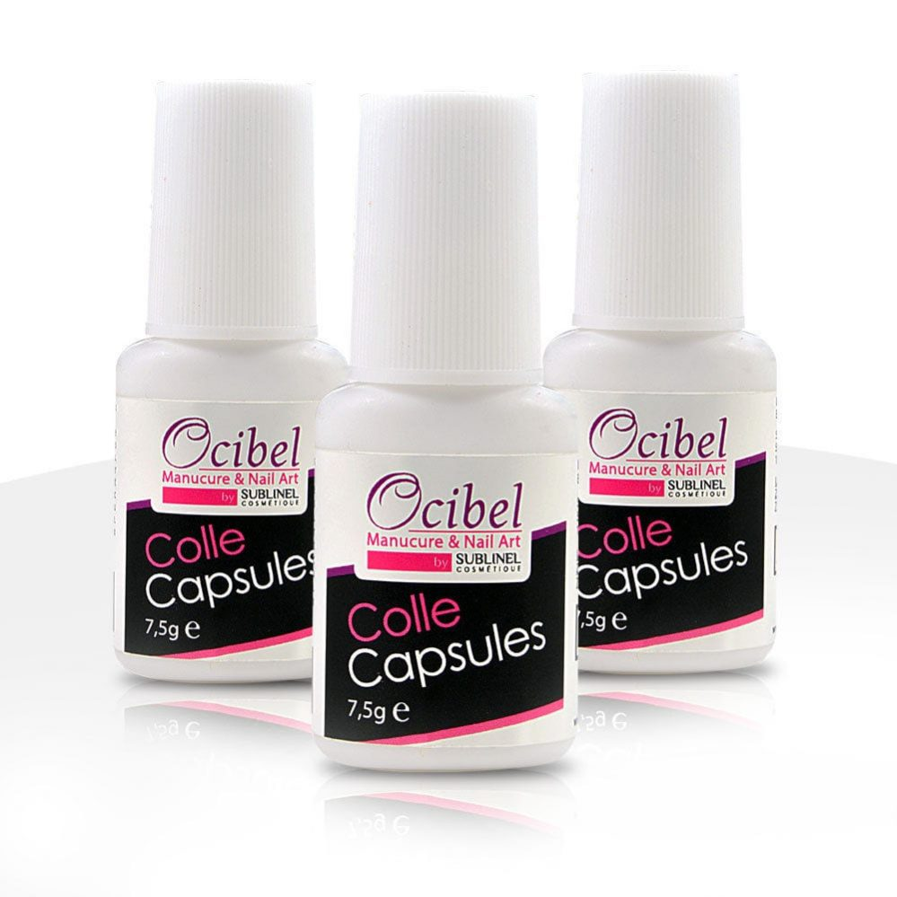 3 Colles capsules pour ongles avec pinceau 7,5 ml Manucure Faux Ongles Nail Art  Price : 7.50  Ends on :   Voir sur eBay   …
