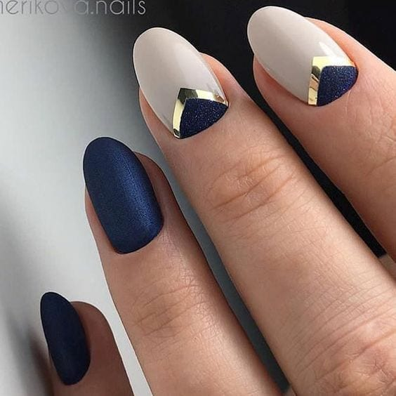 Top Newest Homecoming Nails Designs ★ See more: glaminati.com/…
