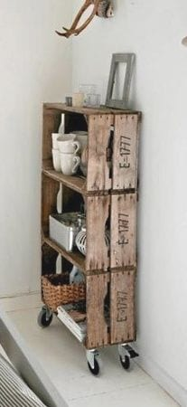 crate bookcase ( #furniture #recycle ) ✌eace | H U M A N™ | нυмanACOUSTICS™ | н2TV™