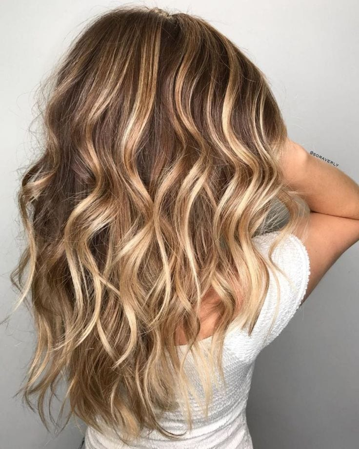 Caramel Blonde Balayage For Light Brown Hair Source by ladygodzilla   …