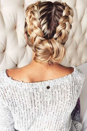 See our ideas of braid hairstyles for Christmas parties! Source by steffidewinter0   …