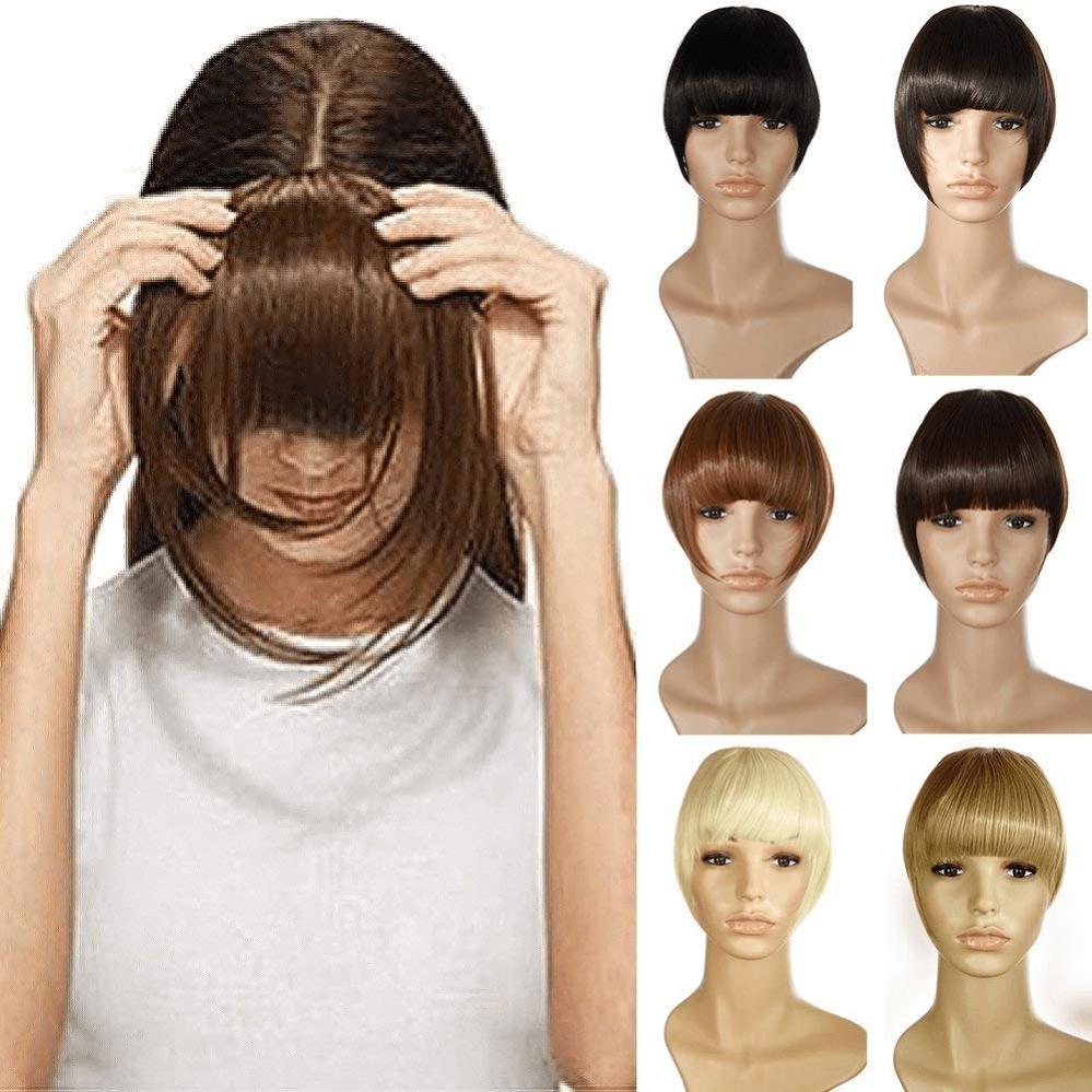 Frange a Clip Postiche Extension de Cheveux Lisse – Clips in Hair Bang Fringe Ex  Prix : 23.99  Termine le : 2018-11-19 15:16:36  Vu sur eBay  …