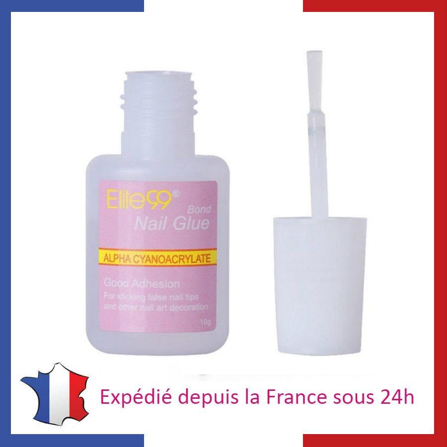 Lot de Colle avec Pinceau pour Faux Ongles Capsules Tips Manucure Nail Art Gel  Price : 1.00  Ends on :   Voir sur eBay   …