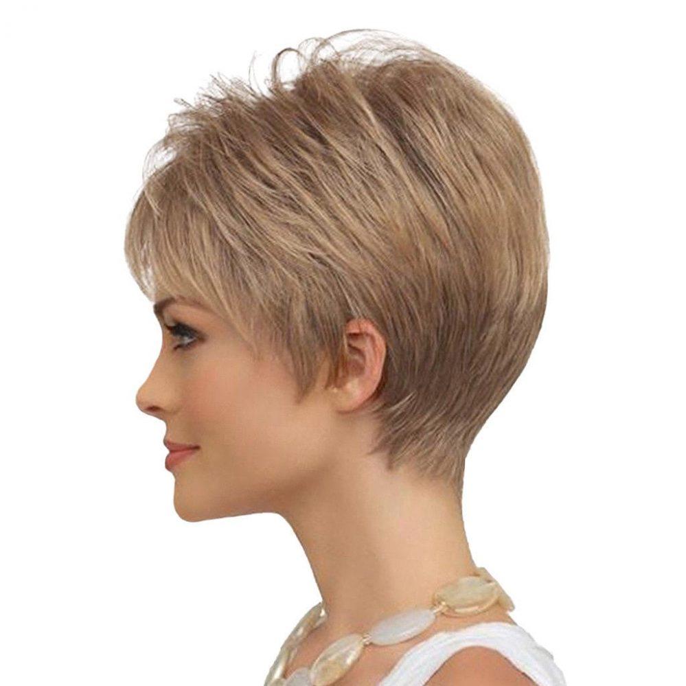 Mode Perruque Femmes Court en Layer Raide en Vrais Cheveux Humains pour  Prix : 33.98  Termine le : 2018-12-02 07:14:45  Vu sur eBay  …