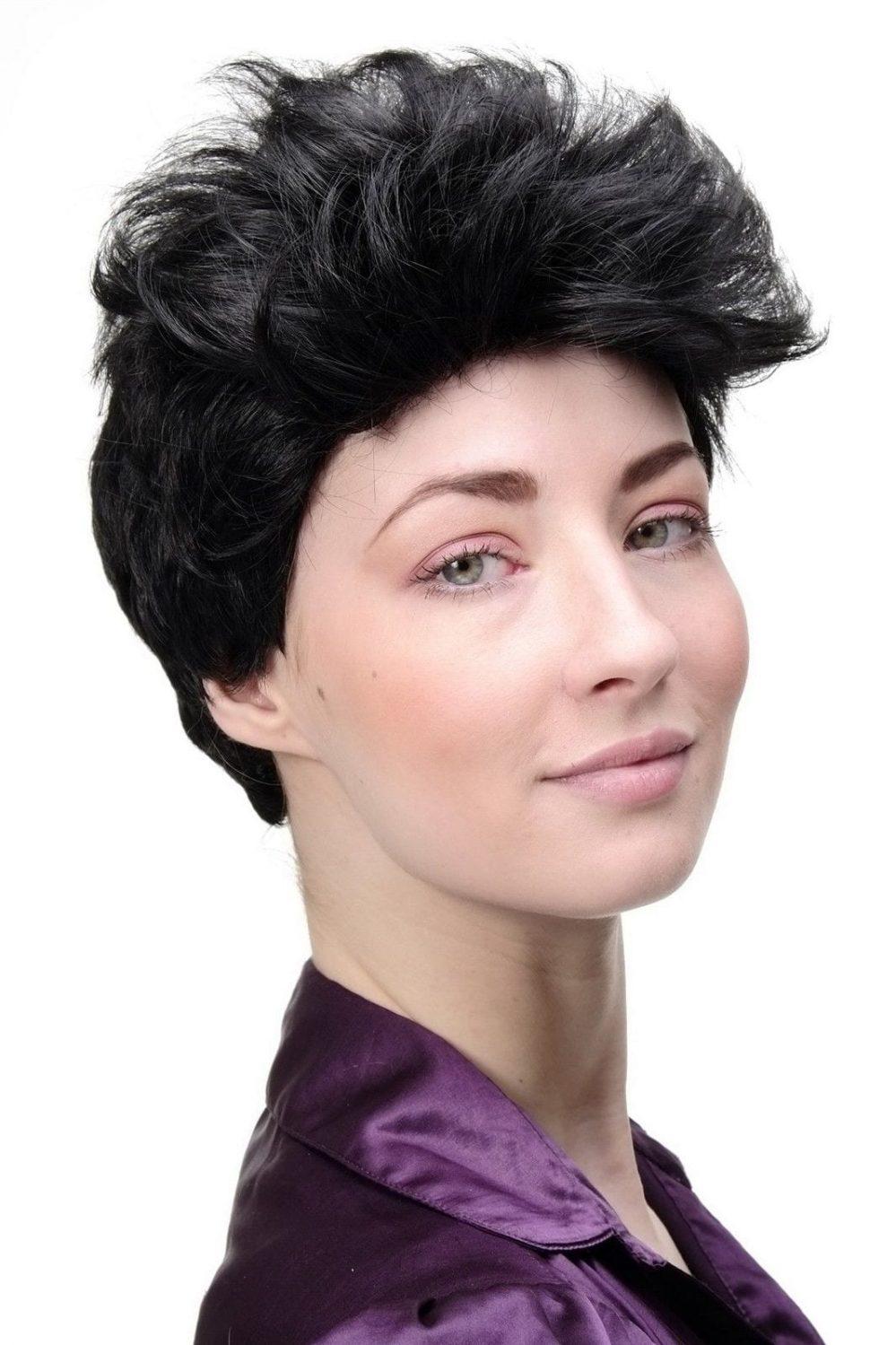 Wig Me Up Perruque pour Femme Coiffure Courte Cheveux Kess Noir GFW1645  Prix : 9.99  Termine le : 2018-11-19 10:42:27  Vu sur eBay  …