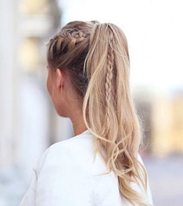10 Lovely Ponytail Hair Ideas for Long Hair, Easy Doing Within 5 Minute- so trying when my hair gets longer