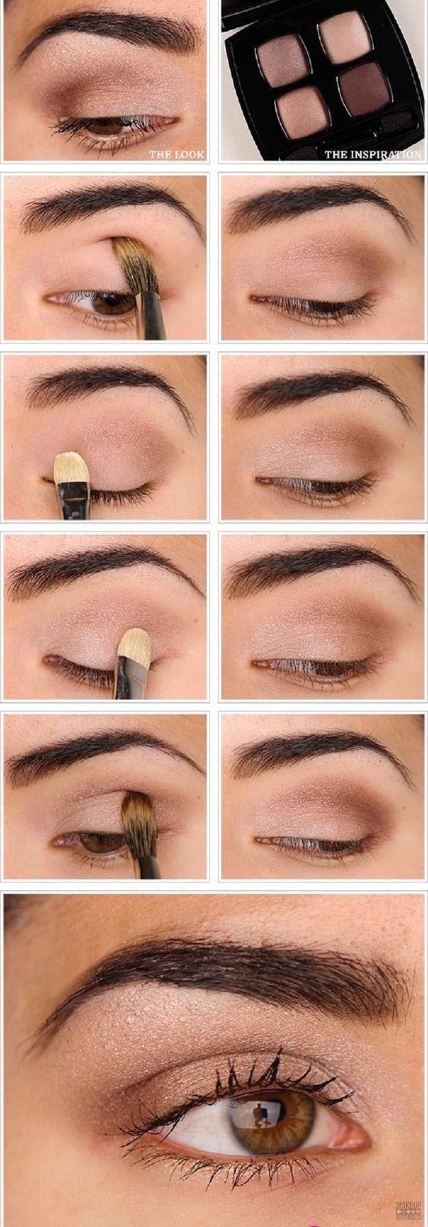 natural makeup tutorial Source by robinhamstra   …