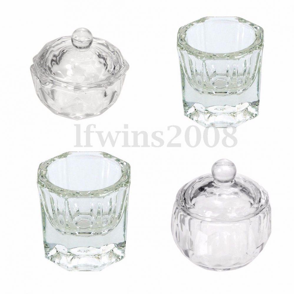 1X Godet Cristal Verre Acrylique Poudre Liquide Resine Ongle Cup UV Gel Nail Art  Price : 1.32  Ends on :   Voir sur eBay   …