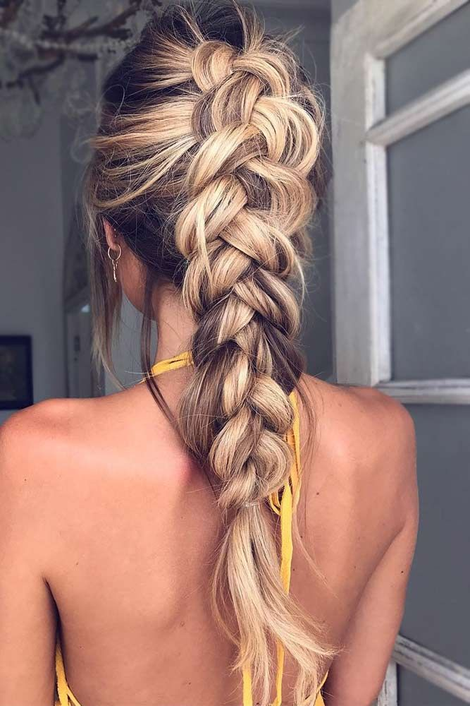 Dutch Braided Hairstyle Ideas picture1 Source by annagriffioen   …