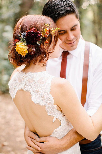 Coiffure De Mariage  : photo: Britt Rene Photography