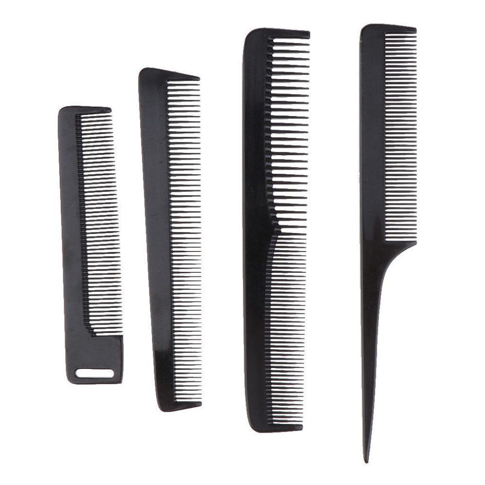 4pcs fibre de carbone noir style coiffeur coiffeur peigne et sac  Prix : 12.49  Termine le : 2018-12-30 22:15:55  Vu sur eBay  …