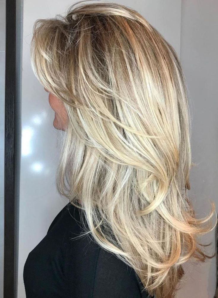 Long Layered Blonde Hairstyle Source by artep17   …