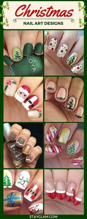 Christmas Nail Art Designs Source by foreverinthekitchen   …