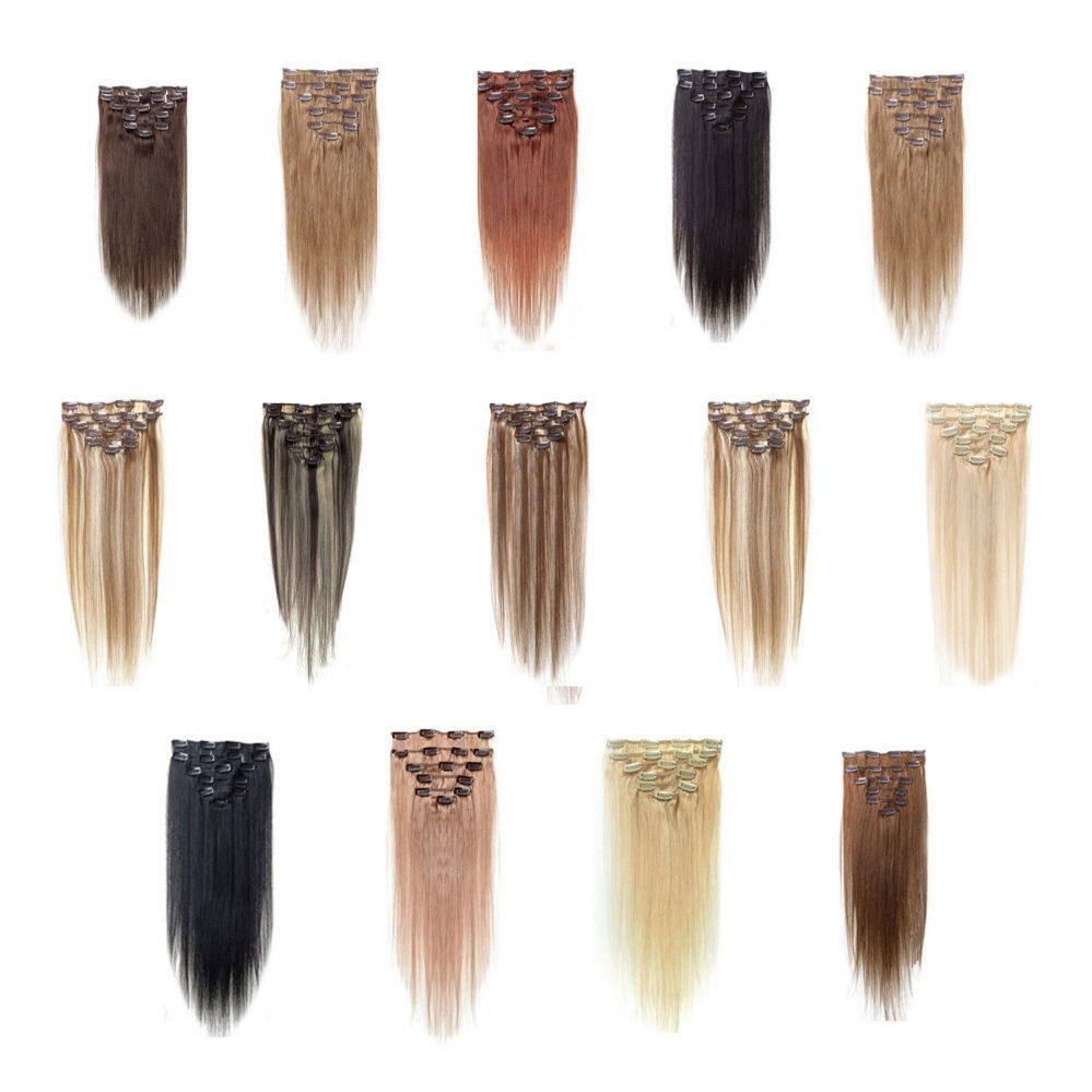 Femmes Clips de Cheveux humains Extensions de cheveux 7pcs 70g 18 pouces Br S0J9  Prix : 5.70  Termine le : 2018-12-29 09:06:14  Vu sur eBay  …