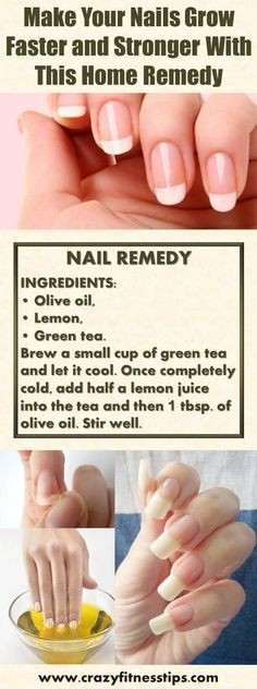 Make Your Nails Grow Faster and Stronger With This Home Remedy #nailcaredesign #nailcaretreatment