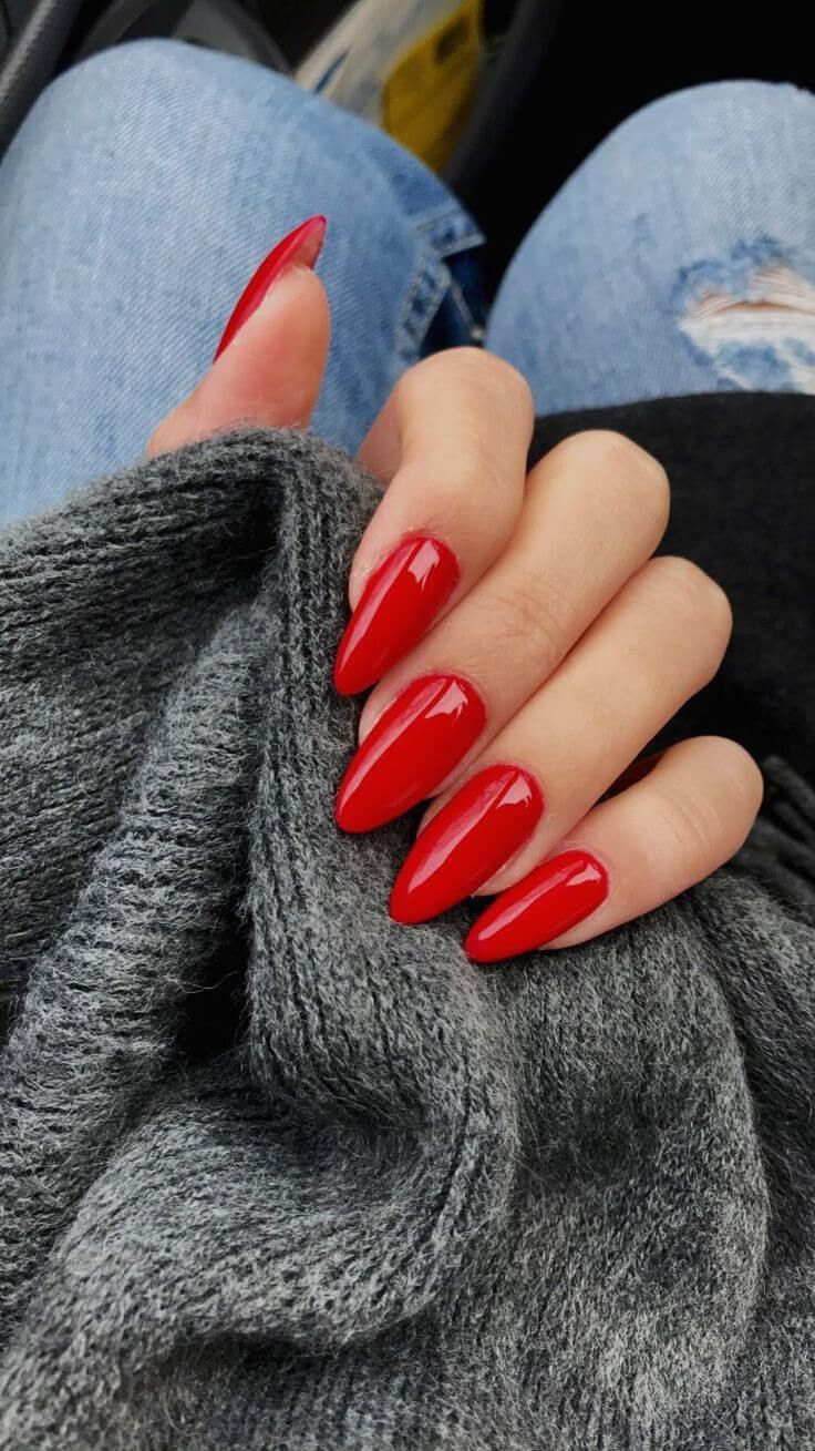 50 Creative Red Acrylic Nail Designs to Inspire You50 Creative Red Acrylic Nail Designs to Inspire You Source by thethinkinggirl   …