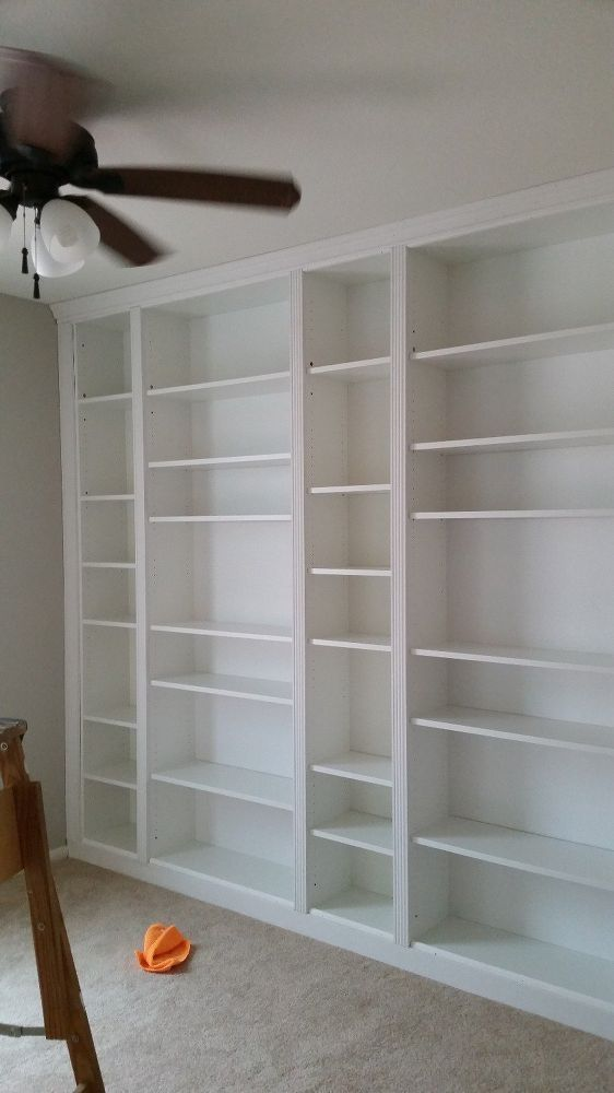 How to Make Stunning Built-Ins with IKEA Bookcases Source by mactini   …
