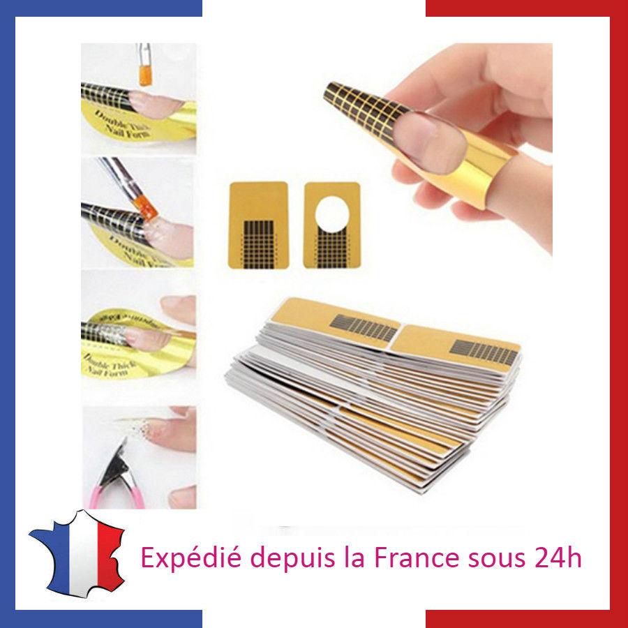 Lot de Chablons pour Extensions d'Ongles en Gel Nail Art Gel UV Manucure  Price : 1.00  Ends on :   Voir sur eBay   …