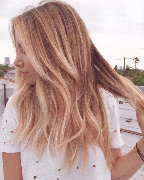 Strawberry Blonde Color  – 20 Beautiful Winter Hair Color Ideas for Blondes – Photos Source by karoladeheer   …