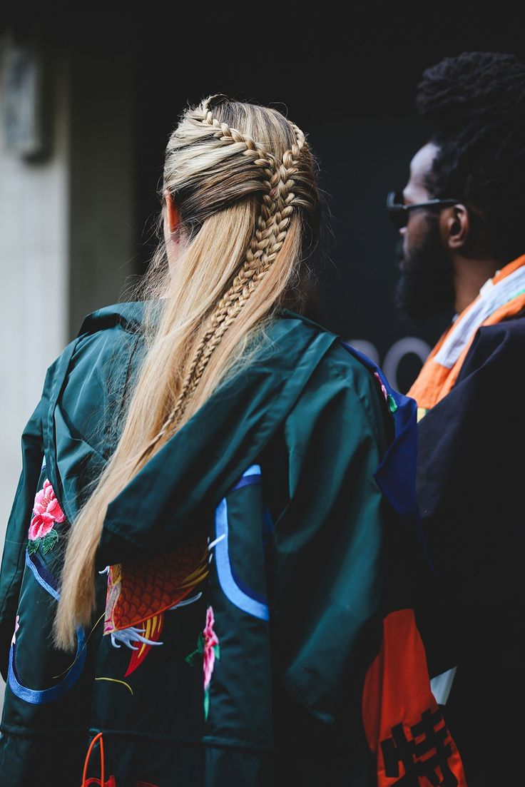 Hairstyles To Steal From LFW's Street Style Stars #refinery29 www.refinery29.uk… This style is one for the brave (and the patient) but it's certainly worth the time and effort…. Source by mirrevt   …