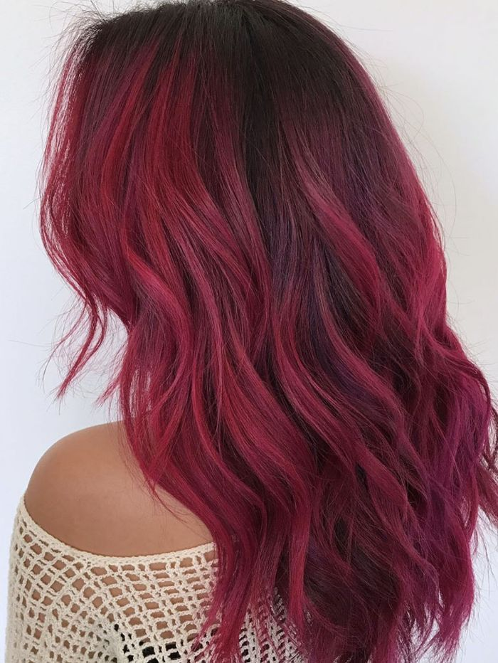 You Didn't Know You Needed Red Ombré Hair Inspo Until Now Source by BlackDragonX   …
