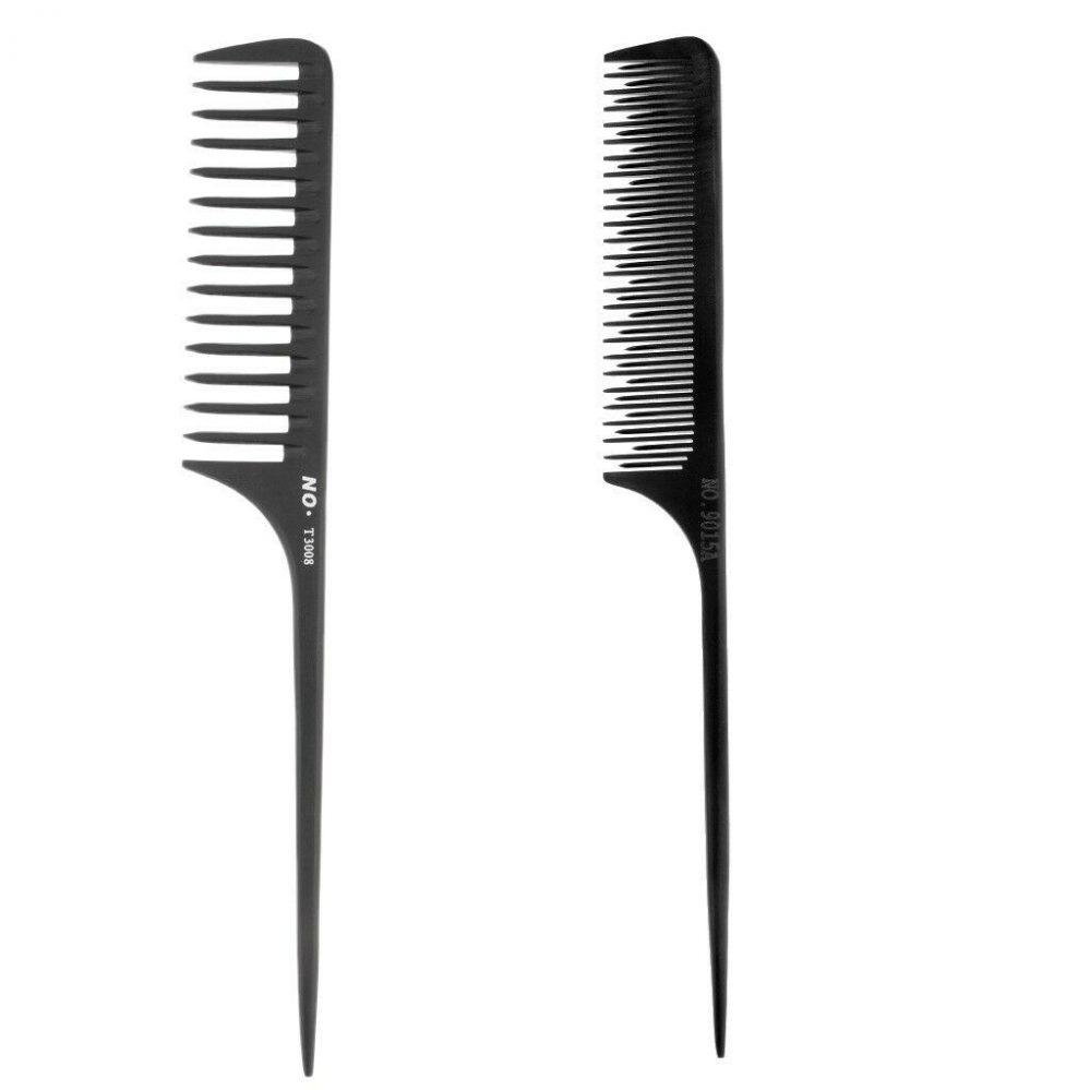 2x Professionnel Salon Barber Tail Astuce Coiffure Coiffure Fine Dent Choix  Prix : 3.57  Termine le : 2019-02-21 11:20:48  Vu sur eBay  …