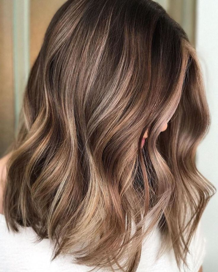 Thick Brown Hair With Subtle Highlights Source by ccivile   …
