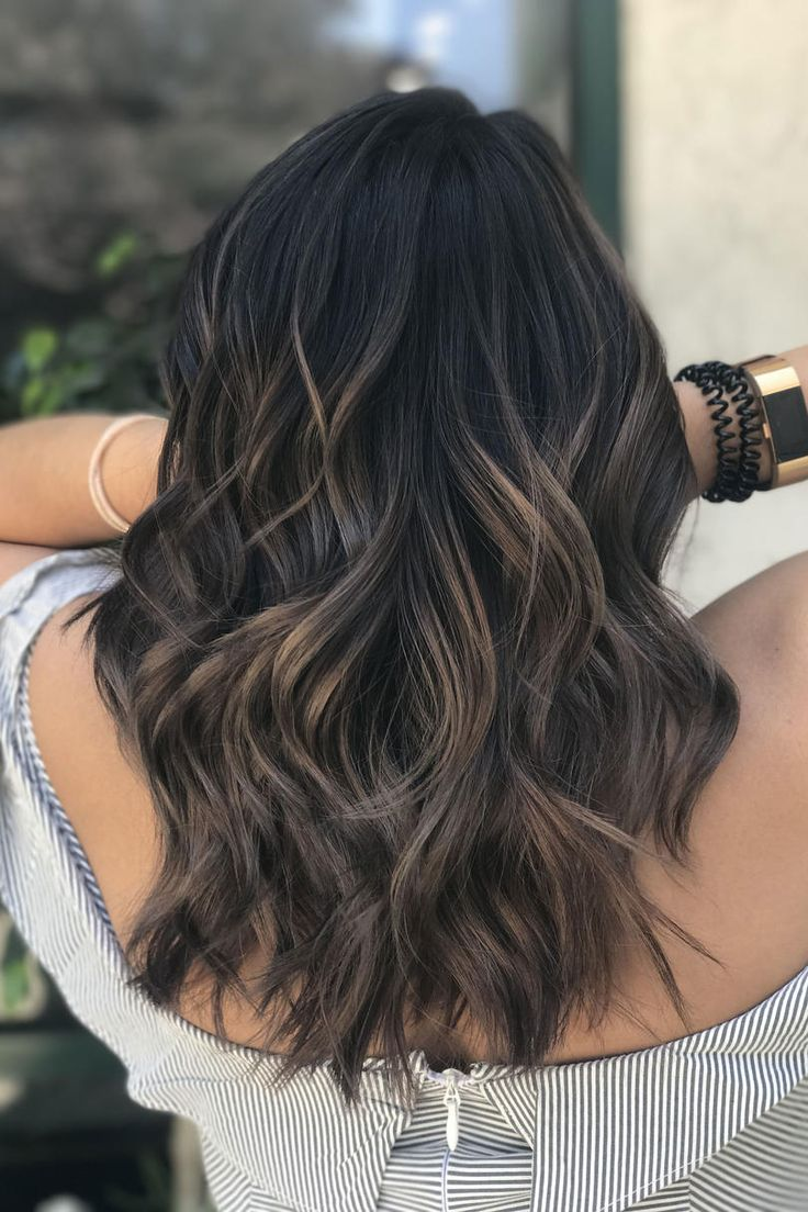 Dark Balayage | Cool and earthy, this shade is surprisingly refreshing for spring and summer. When sunny and warm summer days are finally on the horizon, most Southern ladies are ready to freshen up their look with a new cut…