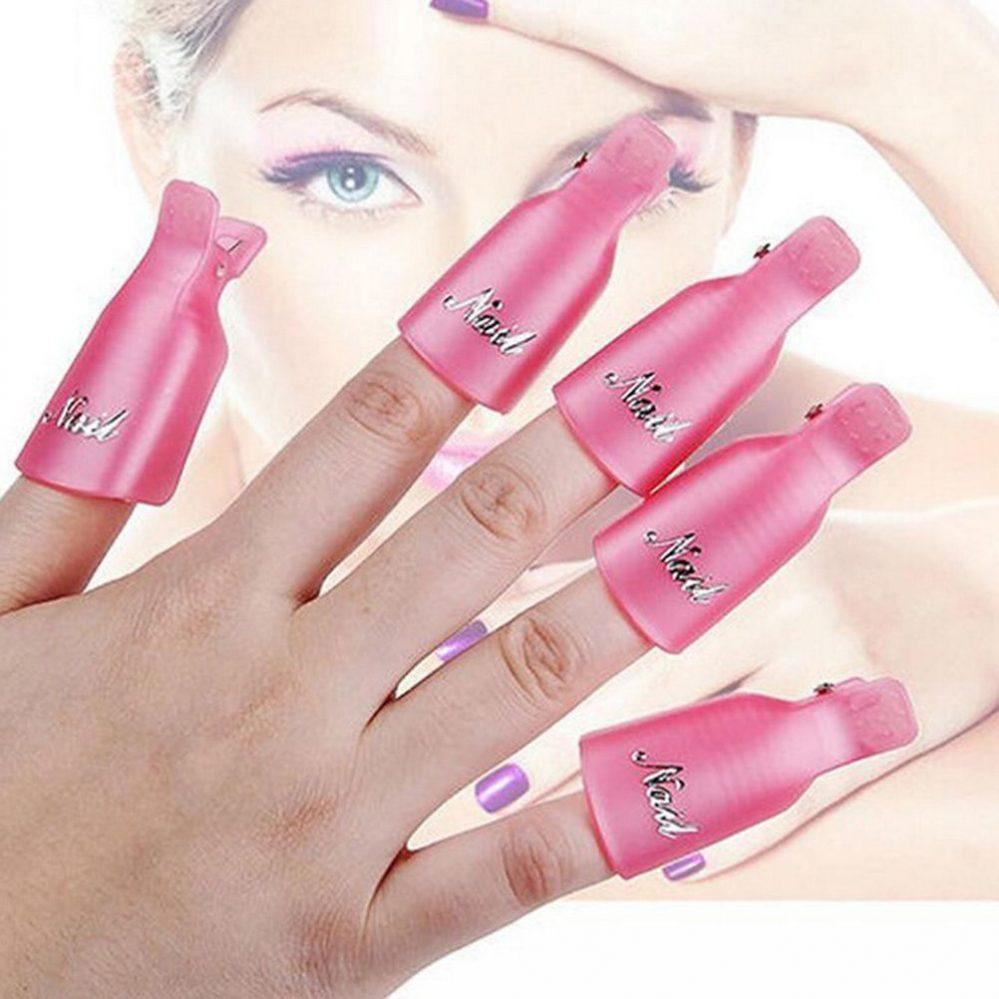 Ongles en plastique 10X Soak Off Gel UV Art Gel Remover Wrap Gelish Clip  FR  Price : 2.90  Ends on :   Voir sur eBay   …