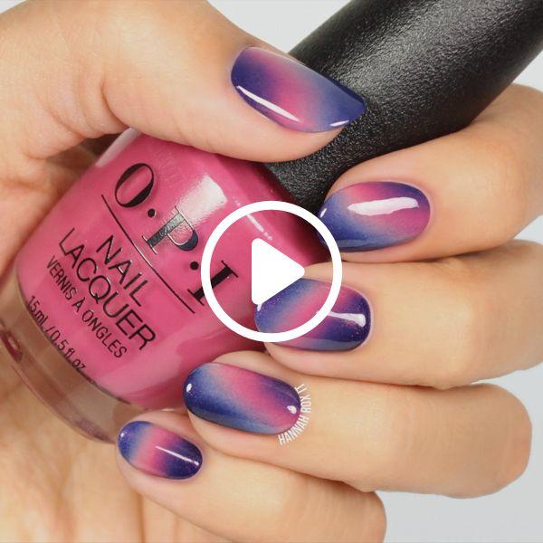 Pink and Purple Ombre Manicure Tutorial #darbysmart #beauty #nailpolish #nailart #naildiy #naildesign #nailtutorial Source by scylla01   …