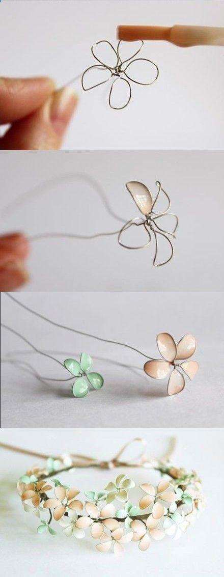 Allerlei-Vanalles: Ideetjes&Weetjes ~DIY: Nagellak-Bloemen *Nail Polish Flowers~ Source by h03072009   …