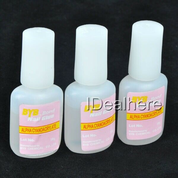 3Pcs 10g Colle Glue Capsule Gel Pro Pr Faux Ongles Décoration Nail Art Bijoux  Price : 1.89  Ends on :   Voir sur eBay   …