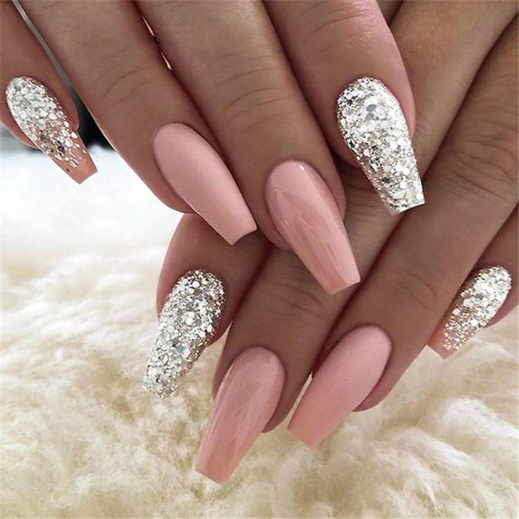 600pcs/Bag Ballerina Nail Art Tips Transparent/Natural False Coffin Nails Art Tips Flat Shape Full Cover Manicure Fake Nail Tips Source by shappire   …